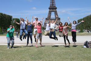 Σπουδαστές στο Παρίσι Γαλλία
